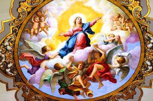 Fresco of the Assumption of Mary, Basilica de la Macarena, Seville, Spain