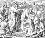 Feeding of the 5000, Julius Schnorr von Carolsfeld
