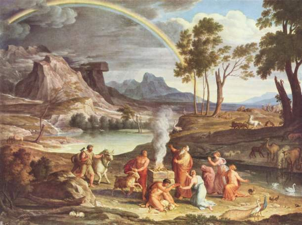 Noah Flood Joseph_Anton_Koch_006