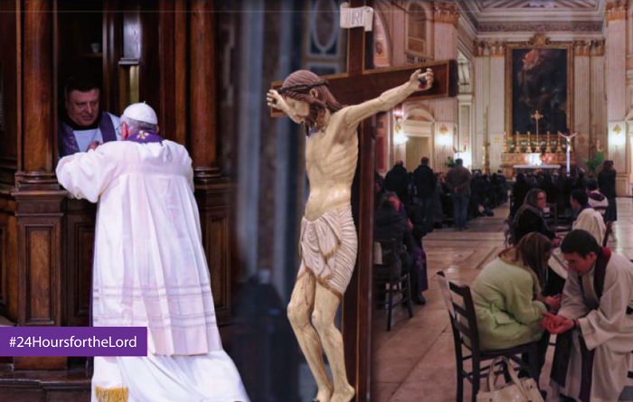 Pope Francis, Penance and Reconciliation during 24 Hours for the Lord