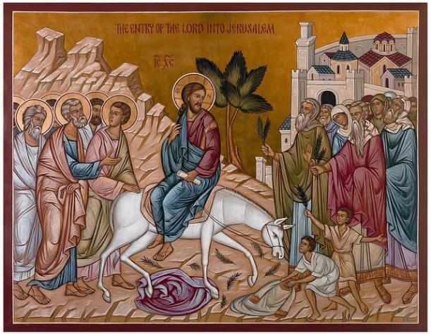 Entry_Into_Jerusalem Palm Sunday