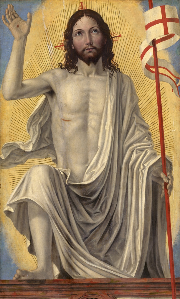Christ Risen from the Tomb, Ambrogio Bergognone (c. 1470-1523), Samual H. Kress Collection, National Gallery of Art, Washington.