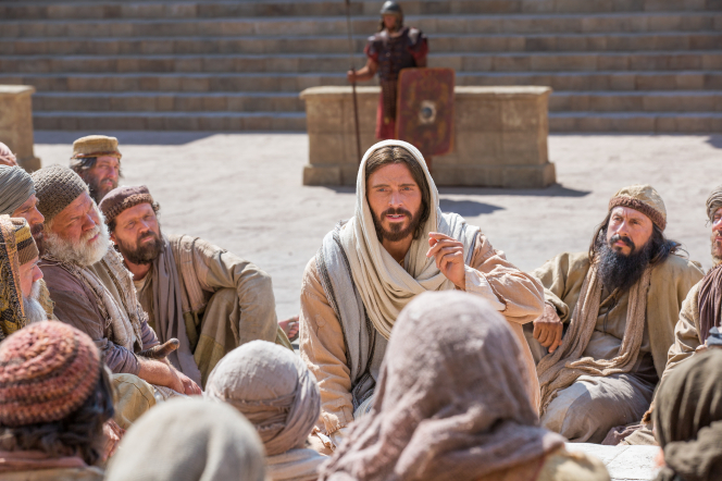 Jesus teaching the disciples, royalty free image from https://www.lds.org/media-library/images/jesus-teaching-apostles-friends-1138161?lang=en.
