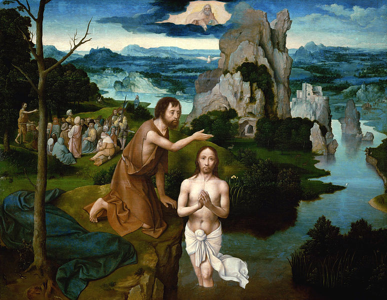 Baptism-of-Christ-Joachim Patinir