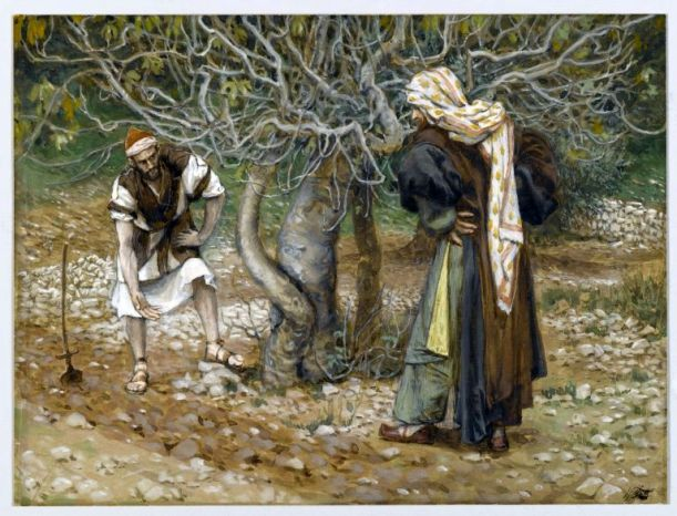 Vine Dresser and Fig Tree James Tissot
