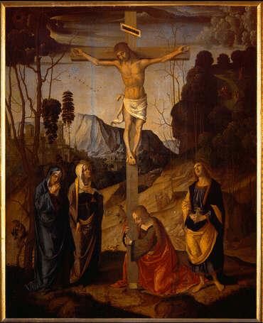 Marco_Palmezzano,_Crucifixion Uffizi