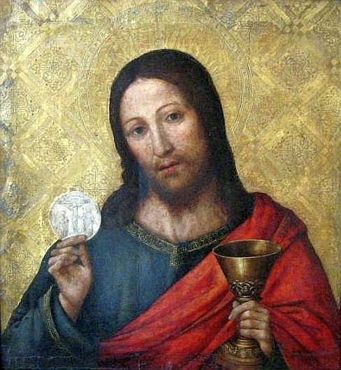 Christ With The Host Paolo de San Leocadio