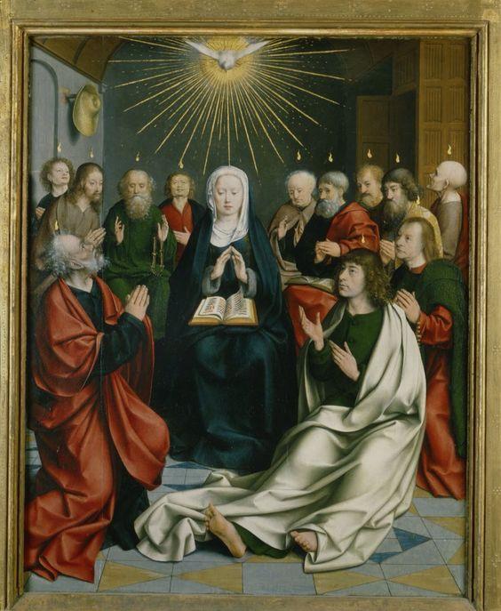 Pentecost Jan Joest van Kalkar