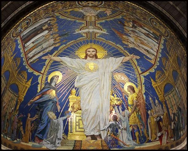 Sacred Heart Sacre Coeur Mosaic