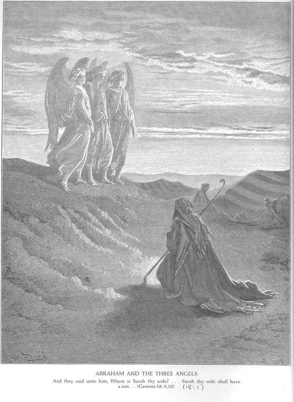 Abraham-and-the-three-angels-Dore-600x820