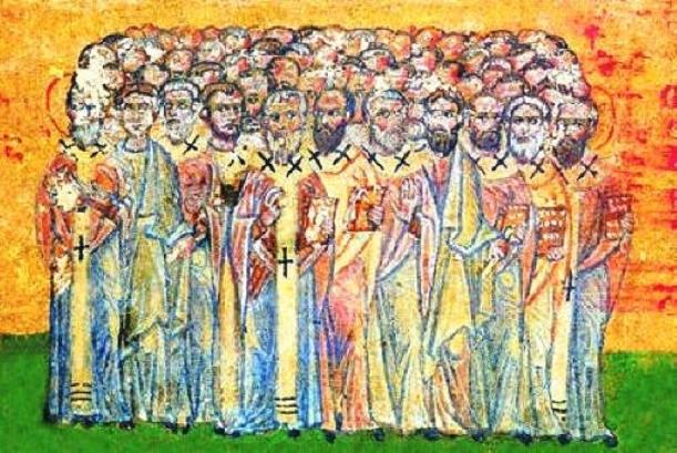 Seventy Apostles Russian Icon