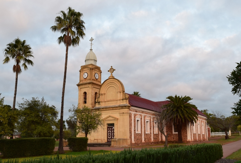 160821-3-Abbey-Church-New-Norcia-at-Dawn