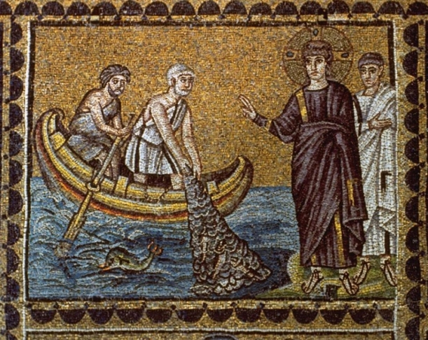 calling-of-peter-and-andrew-ravenna-mosaic
