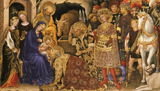 gentile-da-fabriano-adoration-of-the-magi-detail