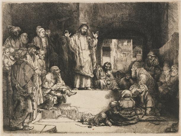 jesus-preaching-rembrandt