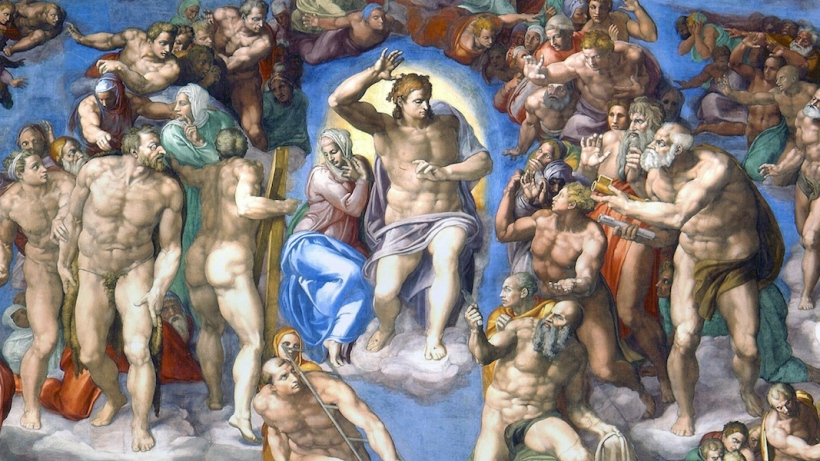 Last Judgement Sistine Chapel