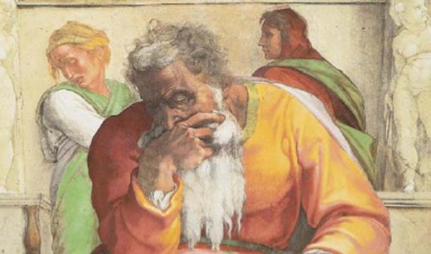 Jeremiah Michelangelo_Buonarroti